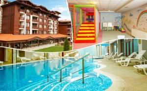 Нощувка на човек със закуска, обяд* и вечеря + басейн и релакс зона в Хотел Панорама Ризорт****, Банско
