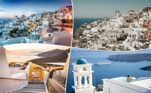 Почивка на Остров Санторини, Гърция. 4 Нощувки на човек със Закуски +Транспорт от Та България Травъл