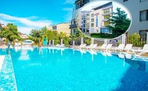 Нощувка на човек на База Аll Inclusive + Басейн в Хотел Флагман***, на 70М. от Плаж Хармани, Созопол