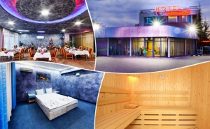 Нощувка на човек със Закуска, Обяд и Вечеря по Избор + Сауна или Солариум в Хотел Афродита, <em>Пловдив</em>