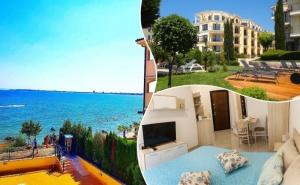 2 нощувки на човек в студио или едноспален апартамент на плажа в Свети Влас от Апартментен комплекс Хоризонт