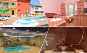 Нощувка за двама, трима или четирима със закуска + 2 басейна и релакс център от хотел Жаки, Кранево