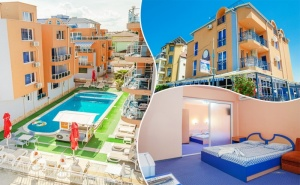 3 нощувки до 6 човека + басейн от хотел Дара, Приморско