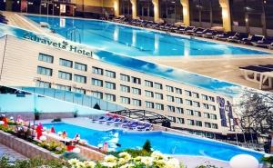 Нощувка на човек със закуска, обяд и вечеря + минерален басейн и релакс пакет в хотел Здравец Уелнес и СПА****, Велинград
