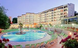 Нощувка на човек на база All Inclusive в хотел Мадара****, Златни Пясъци. БЕЗПЛАТНО - 2 деца до 12г. или трети възрастен