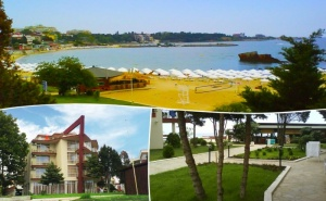 Късно Лято на Първа Линия в Хотел Крим Панорама, Между Равда и Несебър! Нощувка на човек със Закуска, Обяд и Вечеря на Топ Цена