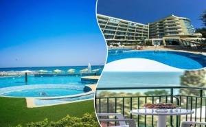 02 - 24 Август в Златни Пясъци на 30М. от Плажа! Нощувка на човек на База All Inclusive + Басейн в Хотел Палм Бийч