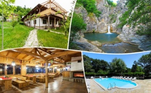Релакс в Сливенския Балкан - Медвен! Нощувка, Закуска и Вечеря + Басейн в Еко Селище Синия Вир