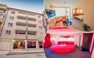 Почивка във Варна! Нощувка на човек в Двойна Стая, Студио или Апартамент в Хотел Гран Иван***