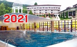 Нова година в Девин! 3, 4 или 5 нощувки на човек със закуски + басейн с минерална вода от СПА хотел Орфей 5*
