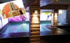 Нощувка на човек със Закуска + Басейн и Релакс Зона в Реновирания Хотел Виа Лакус, Сапарева Баня!