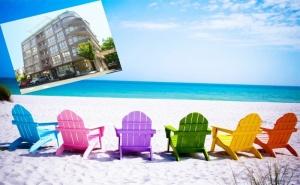 Лято 2021 в <em>Несебър</em> на 100 М. от Плажа. Нощувка на човек със Закуска, Обяд* и Вечеря в Хотел Стела***. Дете до 12Г. - Безплатно!!!