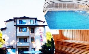 7 нощувки на човек със закуски, обеди* и вечери + минерален басейн и релакс зона от хотел Прим, Сандански