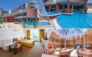 6, 7 или 10 Нощувки на човек със Закуски и Вечери + Басейн в Хотел Есперанто, <em>Слънчев бряг</em>