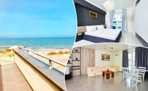 Нощувка за до петима в апартамент с 1 или 2 спални от Атлантик Апартментс, Поморие