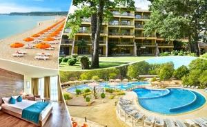 Нощувка на човек на База All Inclusive + Басейн в Хотел Магнолиите, на 200М. от Плажа в <em>Приморско</em>
