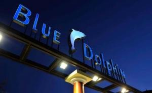 Почивка в Халкидики, Ситония- Хотел Blue Dolphin за Една Нощувка на човек със Закуска и Вечеря, Басейн с Чадъри и Шезлонги и Безплатен Паркинг /01.07.2021 г - 09.07.2021 г. или 24.08.2021 г.  ...
