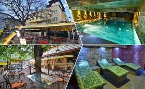 Нощувка на човек със Закуска и Вечеря + Басейн и Релакс Зона с Минерална Вода от Хотел България, <em>Велинград</em>