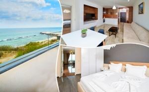 Нощувка за Четирима в Едноспален Апартамент на 10М. от Плажа в Ботабара Дел Мар Апартмънтс, <em>Поморие</em>