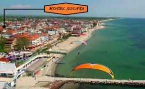3+ Нощувки на човек със Закуска на 100М. от Плажа в Хотел Souita, Паралия Катерини