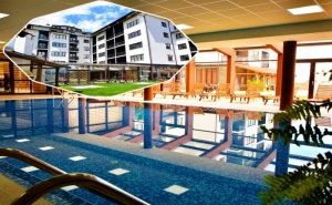 Нощувка на човек на База Аll Inclusive Light + Басейн и Релакс Център в Хотел Роял <em>Банско</em> Апартмънтс. Дете до 12Г. - Безплатно!