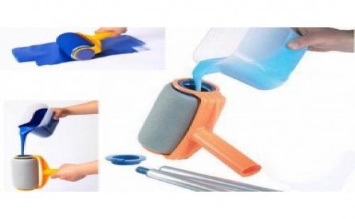 Paint Runner - Иновативна Система за Бързо Боядисване без Пръски и Течове - Малък Сет