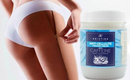 Антицелулитен Крем с Кофеин и Витамин е