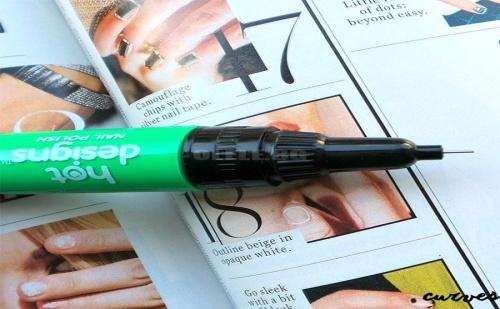 Химикали за Маникюр Hot Designs Nail Art Pen