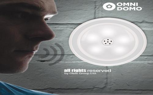 Led Лампа с Гласов Сензор Voluma
