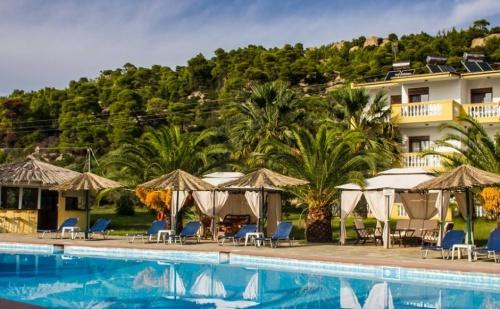 Лятна почивка в Гърция на супер цени в Koviou Holiday Village 3*, 5 нощувки + закуски + вечери, Koviou Holiday Village 3*