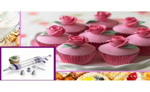 Шприц за украса на десерти