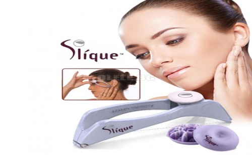 Система за Обезкосмяване с Конец Slique Face and Body Hair System