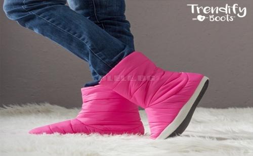 Домашни пантофи тип ботуш trendify boots