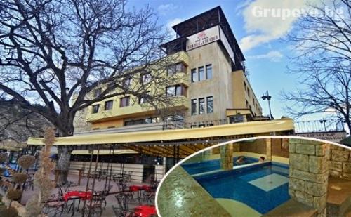 Нощувка, закуска и вечеря + НОВ СПА център с топла МИНЕРАЛНА вода в Хотел България, Велинград