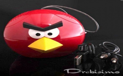 Мини Тонколона и Mp3 - Angry Birds