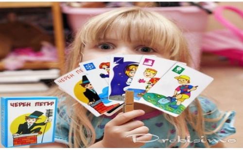 Детски карти Черен Петър