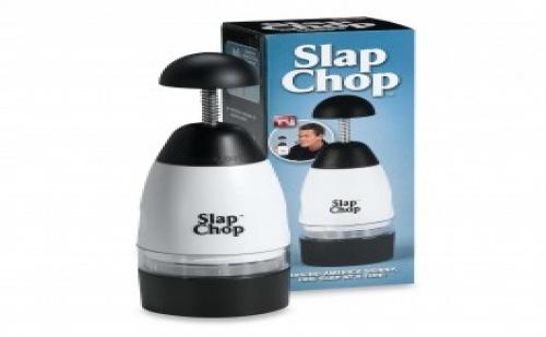Slap Chop - резачката, с която режете, кълцате и натрошавате всичко!