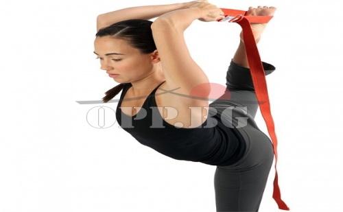 Колан-Ластик за Йога и Аеробика Yoga Strap
