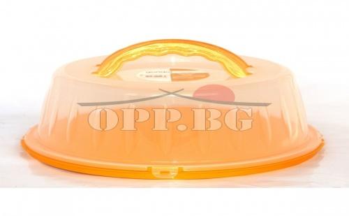 Голяма Кутия за Торта с Удобни Дръжки