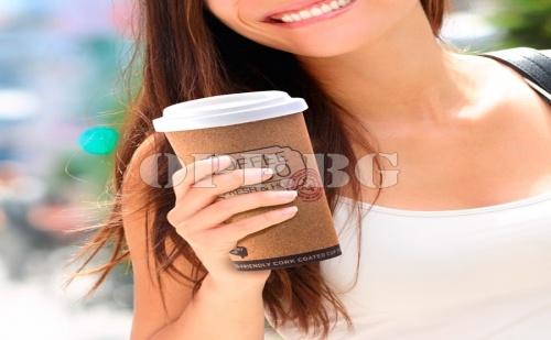 Рециклирана Коркова Термо Чаша с Капак Coffee To Go
