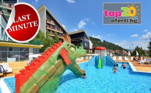 Лято във Велинград! Нощувка със Закуска, Обяд и Вечеря + Безплатен Аквапарк + Минерален Басейн + Спа Пакет в Спа Хотел Селект, Велинград, за 49 лв.