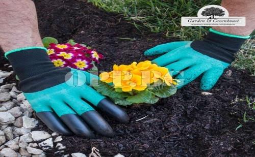Градинарски Ръкавици с 4 Нокътя за Копаене Garden & Greenhouse