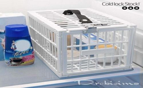 Заключващо се шкафче за хладилник