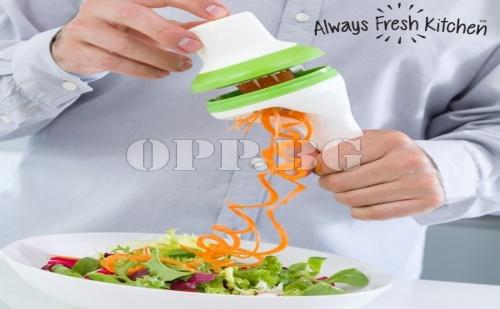 Резачка за Зеленчуци в Спираловидна Форма 3 в 1 Spiral Slicer