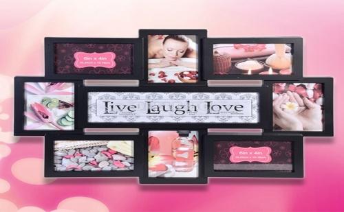 Рамка за Снимки Live Laugh Love
