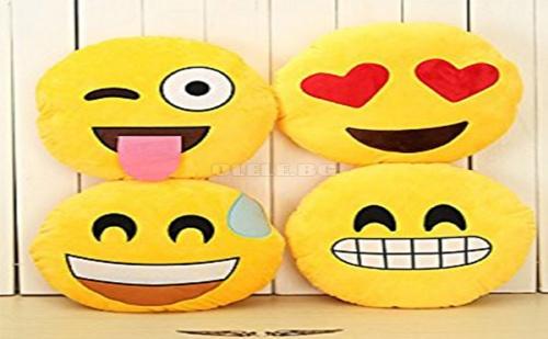 Възглавница Емотикон Emoji Heart Eyes