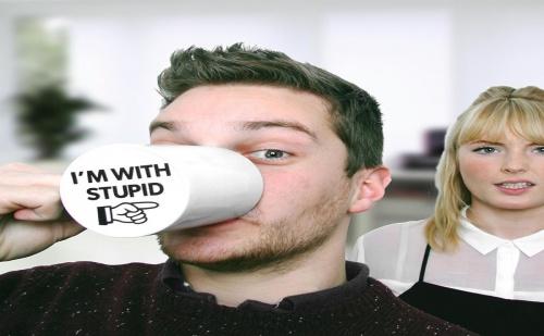 Чаша I'm With Stupid