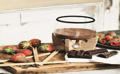 Уред за Шоколадово Фондю със Свещ