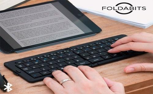 Сгъваема, Bluetooth Клавиатура за Таблет и Телефон