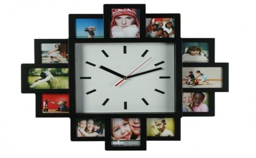Стенен Часовник със Снимки